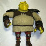 "Sir Shrek the Brave 6"" Action figure loose 2008"